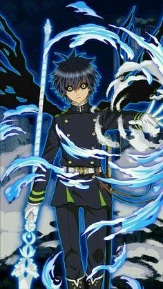 Owari no Seraph Bloody Blades - Yuichiro Hyakuya Otaku Anime, Manga Anime, All Anime, Me Me Me Anime, Sword Art Online, Online Art, Seraphin, Mikaela Hyakuya, Seraph Of The End