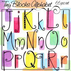 Tiny Blocks Alphabet