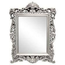 silver ornate framed mirror dunelm furniture decor from Dunelm Bathroom Mirrors Round Mirrors, Wall Mirror, Mirrors Silver, Bathroom Mirrors, Ornate Mirror, Beveled Mirror, Living Room Mirrors, Rustic Furniture