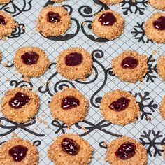 English Thumbprint Cookies