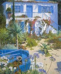 nicholas verrall, Garden by the Ocean