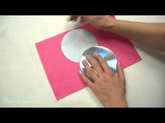 Here is a simple way to make square pillow gift box with old CDs. Paper Gift Box, Diy Gift Box, Diy Box, Paper Crafts Origami, Origami Box, How To Make Small Garden, Gift Wrapper, Christmas Gift Decorations, Pillow Box