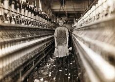 Child Laborer Portrayed By Lewis Hine