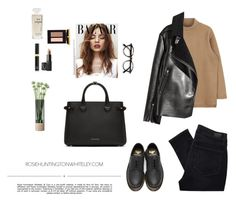 """New York City Girl"" by djulia-tarasova ❤ liked on Polyvore featuring Dr. Martens, Whiteley, Paige Denim, Chanel, Tom Ford, NARS Cosmetics, LSA International and Burberry"