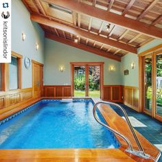 Pool at the gym always crowded?Problem solved.  #homepool #endlesspool #northbend #windermere #endlesspools