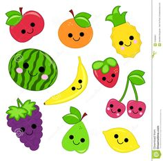 cute fruit pictures - Google Search