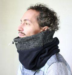 Mini Snock® cowl scarf, mens cowl scarf, womens cowl, neck warmer, cowl, cowl mens, cowl womens