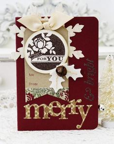 Wonderful Words: Holiday Stamp Set: Papertreyink