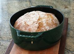 French Country Bread, No Knead http://southernfood.about.com/od/yeastbreads/r/French-Country-Bread-No-Knead.htm