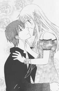 He's not transforming?! Whaaat?! In my opinion, this is one of the cutest fictional couples of all time. KyoxTohru para siempre.