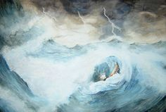 Sea Storm - Chris-Dunn
