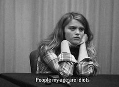 Image shared by Monalisa Fernandes. Find images and videos about black and white, quotes and grunge on We Heart It - the app to get lost in what you love. Intj Women, Sky Ferreira, Look At You, Story Of My Life, Going Crazy, Movie Quotes, The Funny, My Best Friend, I Laughed