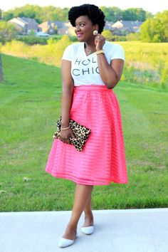 Chioma's Evolution of Style: Park Ave Pink