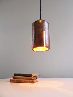 Aydınlatma ve Dekor Dünyasından Gelişmeler: Laura Noriega'dan Bakır Tiripiti Sarkıt #aydinlatma #lighting #design #tasarim #dekor #decor