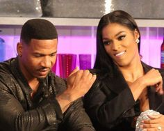Stevie J and Joseline