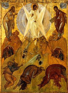 You were transfigured on the mount, O Christ God, revealing Your Glory to Your disciples as far as they could bear it.  Let Your everlasting light also shine upon us sinners, through the prayers of the Theotokos, O Giver of Light glory to You!