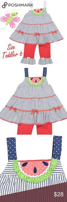 NWT CARTERS GIRLS NAUTICAL STRIPED DRESS CUTE TUNIC COTTON DRESS SIZE 2T