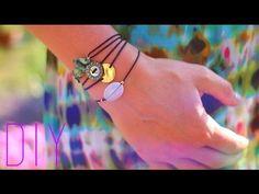 DIY - TUTO : 3 BRACELETS D'ETE NOEUD COULISSANT - Sliding knot bracelet ...