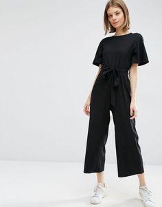 ASOS | ASOS Kimono Jumpsuit with Culotte Leg