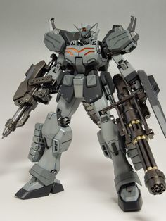 GUNDAM GUY: MG 1/100 Gundam Heavyarms EW - Painted Build