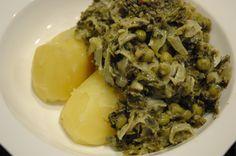 Die grüne Pfanne...Wintergemüse neu präsentiert...... http://www.umgekocht.de/2014/11/die-gruene-pfanne/