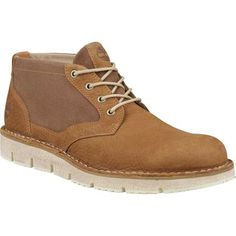 From commuting to work on casual days to weekends spent exploring new towns, the Timberland Men's Westmore Leather/Fabric Chukka combines lightweight comfort with rugged style. Crafted with a leather and canvas upper, these boots have a casual deconstructed that are ready casual wanderings or date nights in the city. Cushioned footbeds and a SensorFlex comfort system keep your feet comfortable, even at the end of a long day when you can't remember where you parked your car.