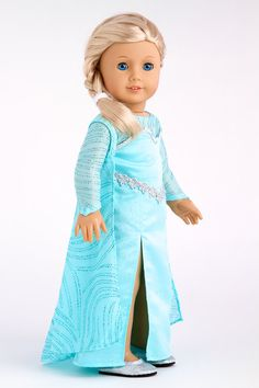 Snow Queen Elsa Doll Clothes for 18 inch von DreamWorldCollection