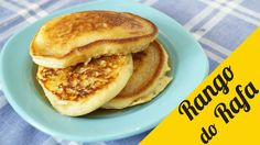 Panqueca americana (pancakes) - Rango do Rafa - YouTube