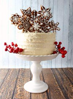 Праздничный торт. #торт #cake #НовыйГод #Christmas