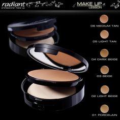 Velvet Finish Cream Powder Make Up | Radiant Professional Make Up Με το Velvet Finish Cream Powder Make Up κάθε φορά που θα κοιτάζεσαι στον καθρέφτη μόνο εσύ θα ξέρεις το αληθινό μυστικό της λάμψης και της ομορφιάς σου! #Radiant #Professional #creampowder #powder #makeup