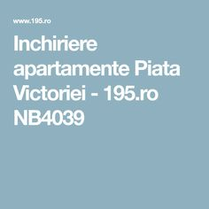 Inchiriere apartamente Piata Victoriei - 195.ro NB4039 Victoria, Victoria Falls