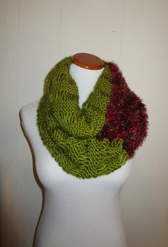 Unique Chartreuse And Novelty Yarn Knit by CoralsChicBoutique