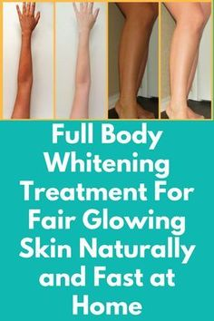 Full Body Whitening Treatment For Fair Glowing Skin Naturally and Fast at Home Full Body Whitening Home Remedies that are 100% natural and effective . It's really very easy to lighten and brighten your body with help of this simple remedy that makes your skin lighter and glowing. You will need Rice Almonds Orange peel powder Turmeric powder Liquorice powder Raw milk Almond oil What to do: In …