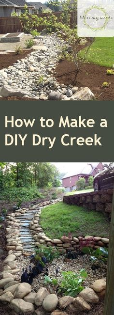 If you want an interesting landscape but don't want to add features that require a lot of water, consider installing a dry creek bed. It provides a soothing atmosphere and plenty of texture, but it…MoreMore #outdoorsdiy
