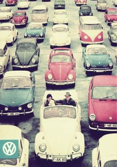 Volkswagen en los años 60