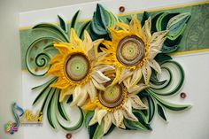 Neli Quilling Art: Sunflowers