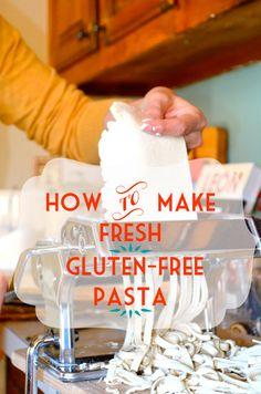 How to make fresh gluten-free vegan pasta