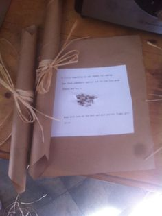 Simple original wedding favour!!! Took 3 and1/2 hours but worth it!!! Patience <3