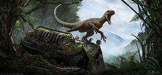"""The Isle-Magnaraptor"" by Arvalis"