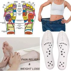 Acupressure Wonder Shoe Sole Height Increase Device Health & Beauty Free Shipping Natural & Alternative Remedies