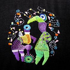 Some fun embroidery examples forinspiration