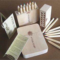 Custom #wood #pencilcase Arte Sella  #creative