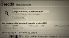 how to reddit search
