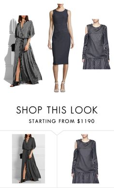 """Trends for Fall 2016: Pinstripes"" by loriwynne on Polyvore featuring Michael Kors, Monse and MICHAEL Michael Kors"