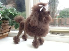 These are just a few examples of my needle felting work. I am completely self taught and will make a very realistic copy of your pet in either 3D sculpture or 2D picture.