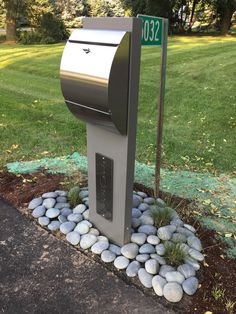 Odyssey Unit – The Mailbox Doctor - front yard landscaping ideas entryway