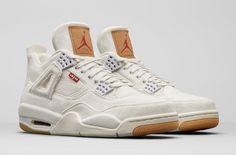 The Levi s Air Jordan 4 White Denim (Style Code  AO2571-100) will 32600b900f
