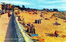 Esplande & Sands, Exmouth. #postcards South West Coast Path, Somerset, Vintage Postcards, Devon, Paths, Places To Go, Street View, Times, Vintage Travel Postcards