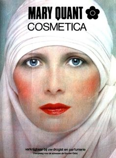 Dutch Hair Fashion Magazine 1977  Aurore Clement for Mary Quant