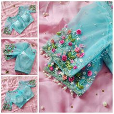 blouse designs latest Top Latest and Trendy Blouse Designs For Saree Top Latest and Trendy Blouse Desig Blouse Back Neck Designs, Fancy Blouse Designs, Designs For Dresses, Wedding Saree Blouse Designs, Silk Saree Blouse Designs, Blouse Patterns, Floral Blouse, Embroidery Neck Designs, Hand Embroidery